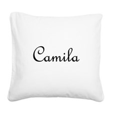 Camila.png Square Canvas Pillow