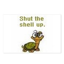 Shut the Shell up. Postcards (Package of 8)