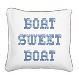 Boat Sweet Boat Cabin Pillow