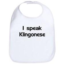 speak Kligonese Bib