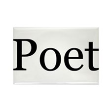 Poet Rectangle Magnet (100 pack)