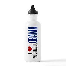 I Love Michelle Obama Water Bottle