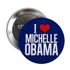 "I Love Michelle Obama 2.25"" Button"