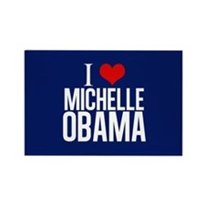 I Love Michelle Obama Rectangle Magnet
