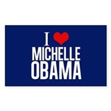 I Love Michelle Obama Decal