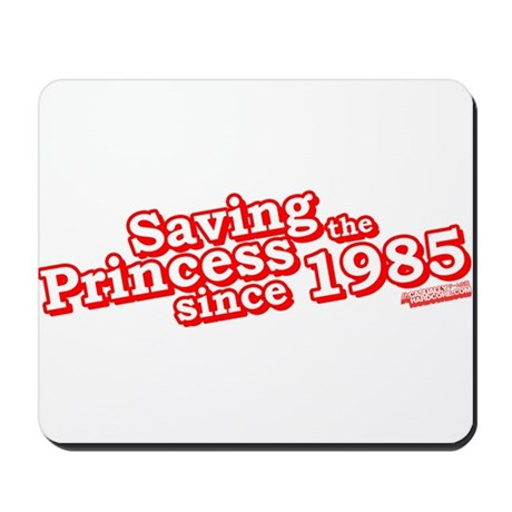Saving The Princess Since 1985 Mousepad