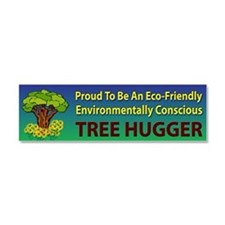 Tree Hugger ~ Car Magnet 10 x 3