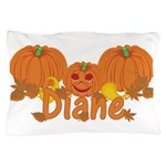 Halloween Pumpkin Diane Pillow Case