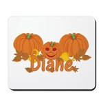 Halloween Pumpkin Diane Mousepad