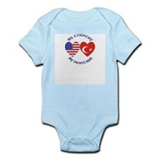 Turkey Country Heritage Infant Creeper