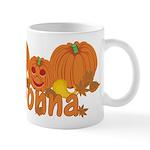 Halloween Pumpkin Donna Mug