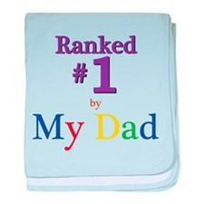 Ranked #1 by My Dad (SEO) baby blanket