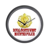 North West Mounted Police Wall Clock