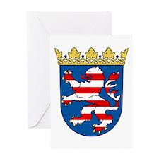 Hessen Wappen Greeting Card