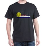Monserrat Black T-Shirt