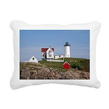 Nubble Light Rectangular Canvas Pillow