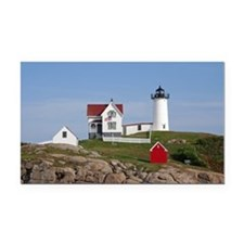 Nubble Light Rectangle Car Magnet