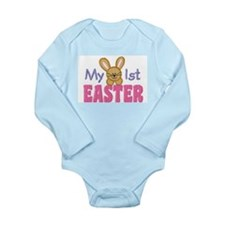 My 1st Easter Long Sleeve Infant Bodysuit