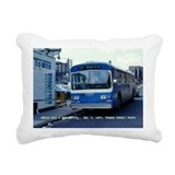 "MTA ""Flx"" Rectangular Canvas Pillow"
