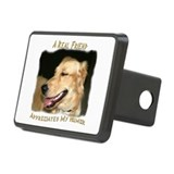 A Real Friend Rectangular Hitch Cover
