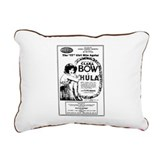 Clara Bow Rectangular Canvas Pillow