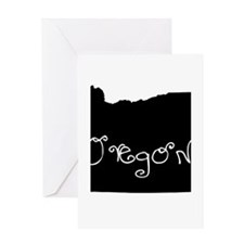 Oregon Greeting Card