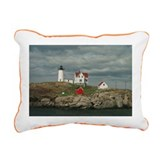 Cool Beach Rectangular Canvas Pillow