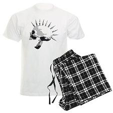 spike skull punk rock Pajamas