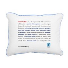 Definition Rectangular Canvas Pillow