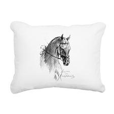 Cute Saddlebred Rectangular Canvas Pillow