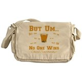 But Um Drinking Game Messenger Bag