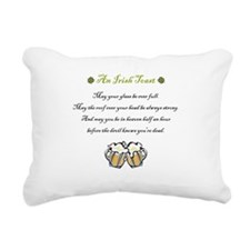 Irish Toast Rectangular Canvas Pillow