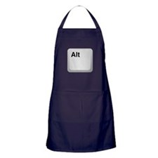 Keyboard Alt Key Apron (dark)