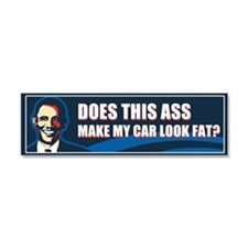 Obama = Ass Car Magnet 10 x 3