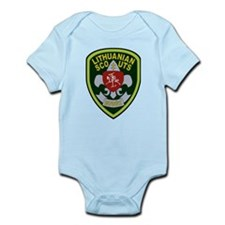 Lithuanian Scout Badge Infant Bodysuit