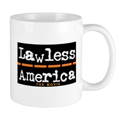Lawless America Movie Logo Mug