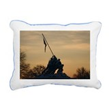 Iwo Jima Winter Morning Rectangular Canvas Pillow