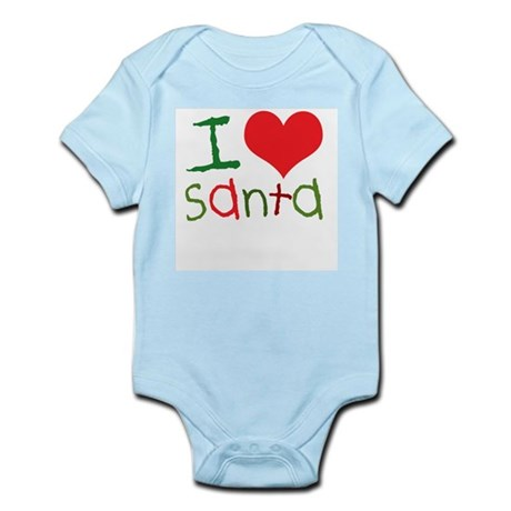 Kids I Love Santa Infant Creeper