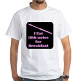Flute I eat 16th notes for Breakfast Shirt