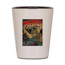 Weird Mysteries Comics Classic Covers #1 Shot Glas