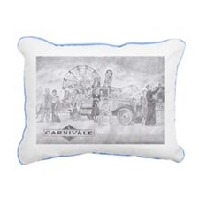 Dustbowl Rectangular Canvas Pillow