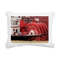 MISSISSIPPI RIVERBOATS - Rectangular Canvas Pillow