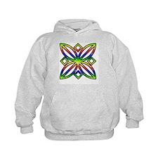 Rainbow Design Hoodie