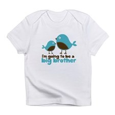 Blue Birds Im going to be a big brother Infant T-S