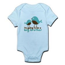 Blue Birds Im going to be a big brother Infant Bod