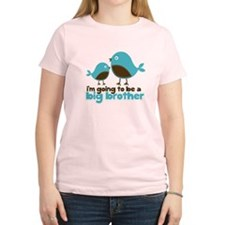 Blue Birds Im going to be a big brother T-Shirt