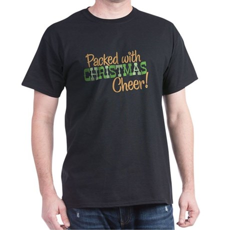 Christmas Cheer Black T-Shirt
