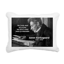 Truth Existentialist Kierkegaard Rectangular Canva