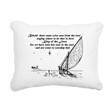 Wise Men Rectangular Canvas Pillow