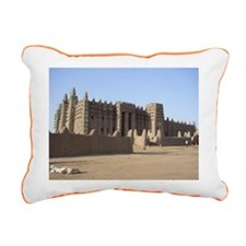 Djenné Rectangular Canvas Pillow
